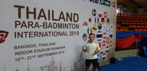 Thailand Para-Badminton International 2019