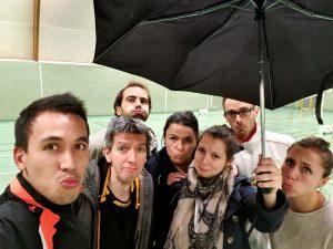 Jouons sous la pluie !