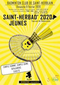 Tournois SaintHerbad' : convocations